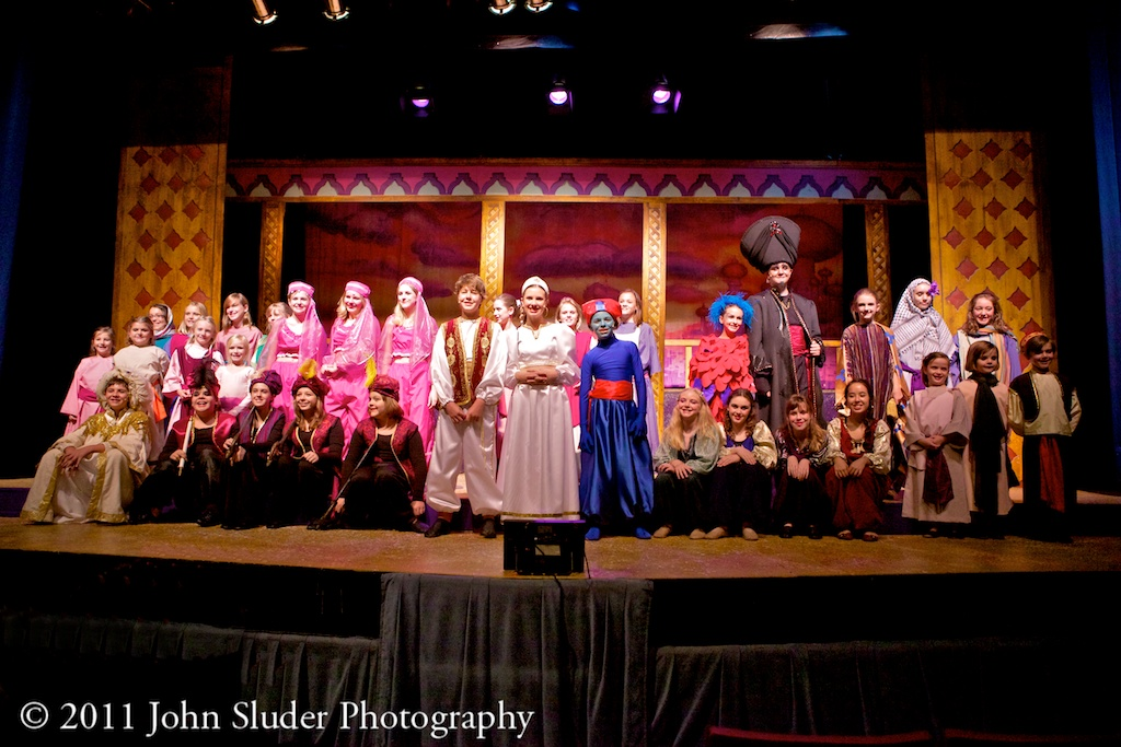 Places Please! - Aladdin Jr at the Henegar Center